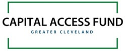 green outlined rectangle with words Capital Access Fund in the center