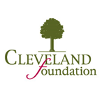 green tree with the words Cleveland Foundation below it